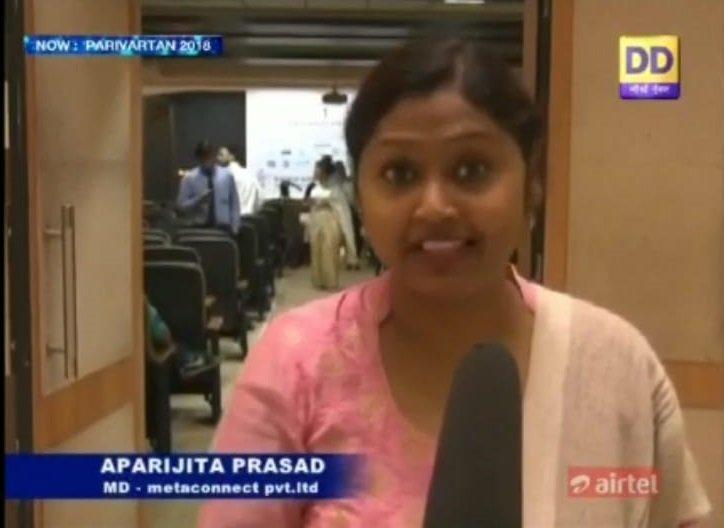 Aparajita Prasad at DD North-East Channel