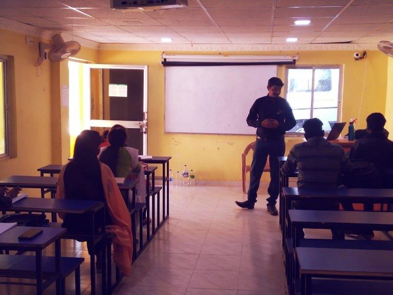 K Vijay Venkat Providing Training Program