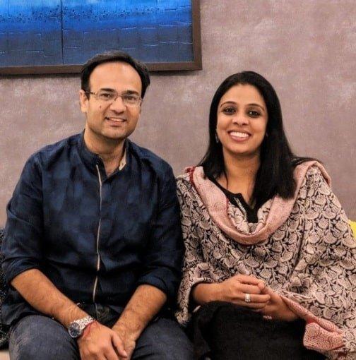 Dev Vig And Akshata Vig
